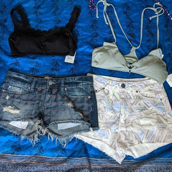 PINK Victoria's Secret Pants - 😎Shorts and Bikini Bundle🌞